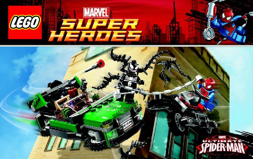 Spielanleitung / Gebrauchsinformation zu LEGO - Marvel Super