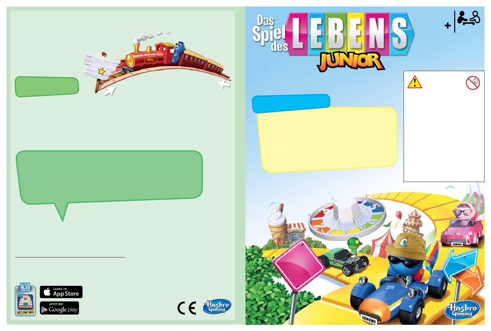 Spielanleitung Gebrauchsinformation Zu Das Spiel Des Lebens Junior