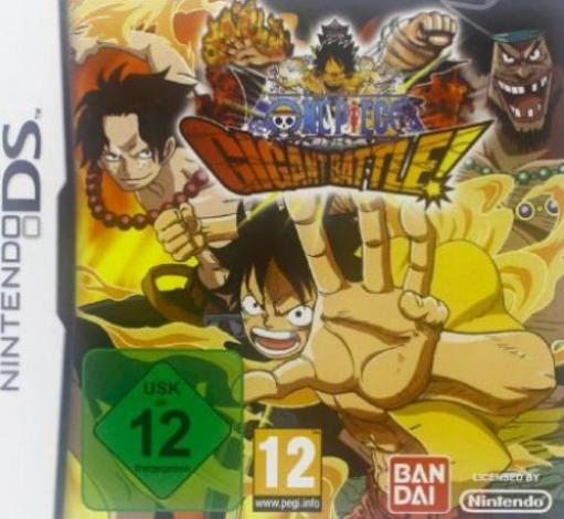 Bandai Namco Entertainment Germany-DS One Piece Gigant Battle