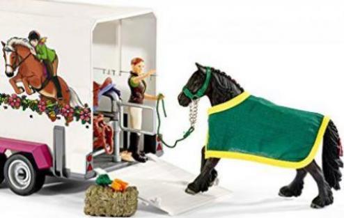 schleich horse club fahrzeuge pick up mit. Black Bedroom Furniture Sets. Home Design Ideas