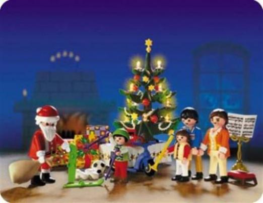 Playmobil Weihnachten.Playmobil Weihnachten Weihnachtszimmer