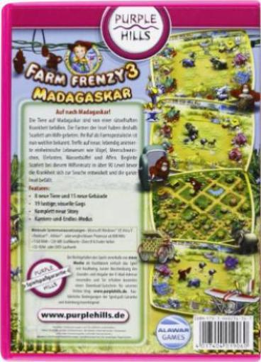 farm frenzy 3 madagascar deutsch pc spiele g nstig kaufen preisvergleich test. Black Bedroom Furniture Sets. Home Design Ideas