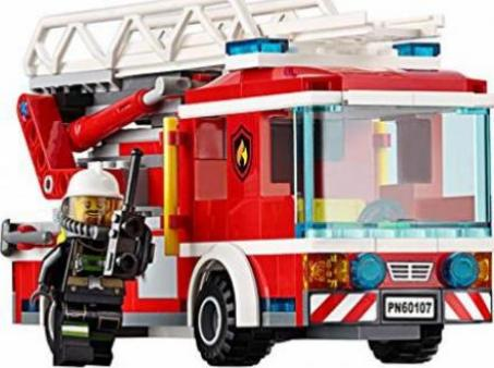 lego city feuerwehr feuerwehrfahrzeug mit fahrbarer leiter g nstig kaufen preisvergleich. Black Bedroom Furniture Sets. Home Design Ideas
