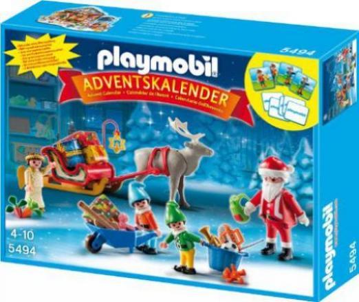 Playmobil Weihnachten.Playmobil Weihnachten Adventskalender Weihnachtsmann Beim Geschenke Packen