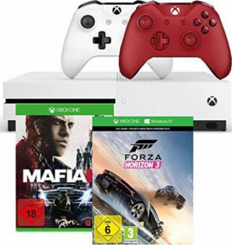 microsoft xbox one s 500gb xbox one g nstig kaufen. Black Bedroom Furniture Sets. Home Design Ideas