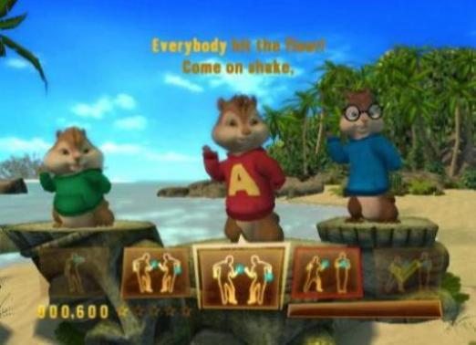Alvin And The Chipmunks 3 Chip Bruch Deutsch Nintendo Wii