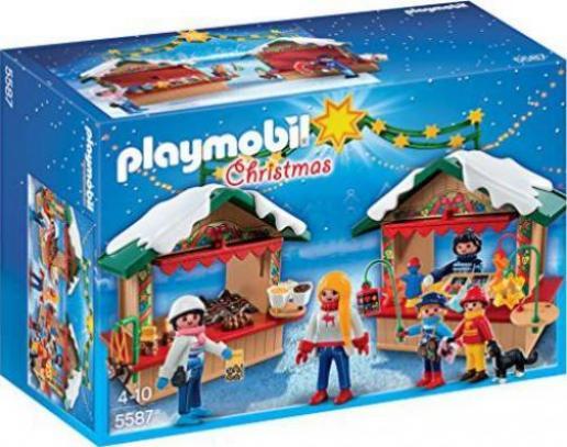 playmobil  weihnachten  weihnachtsmarkt 5587 günstig