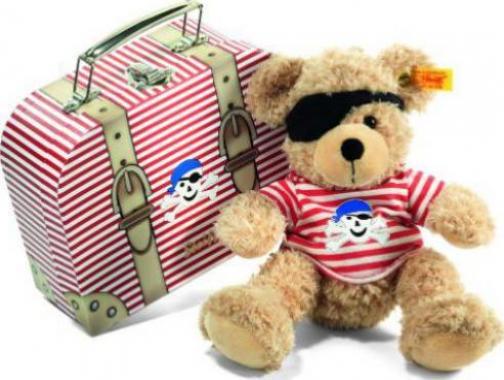 Steiff Teddy Steiff 111471 Teddybär Fynn 28 beige mit Koffer günstig kaufen