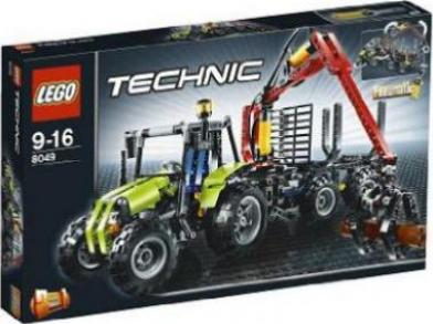 lego technic bauernhof traktor mit forstkran g nstig. Black Bedroom Furniture Sets. Home Design Ideas