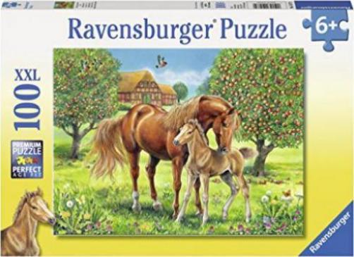 ravensburger puzzle pferdegl ck g nstig kaufen preisvergleich test. Black Bedroom Furniture Sets. Home Design Ideas