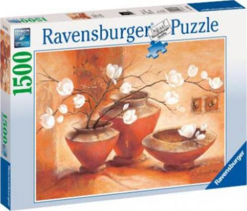 ravensburger puzzle wei e magnolien g nstig kaufen preisvergleich test. Black Bedroom Furniture Sets. Home Design Ideas