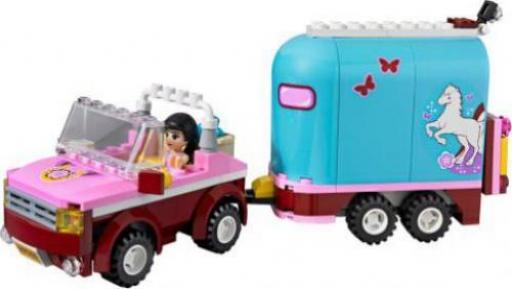 Lego Friends Geländewagen Mit Pferdeanhänger Günstig Kaufen