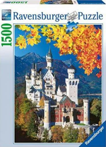 ravensburger puzzle herbstliches neuschwanstein g nstig kaufen preisvergleich test. Black Bedroom Furniture Sets. Home Design Ideas