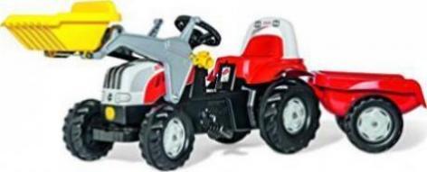 Rolly toys rollykid steyr cvt 6190 trettraktor mit frontlader und