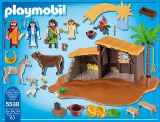 Playmobil Weihnachtskrippe.Playmobil Weihnachten Grosse Weihnachtskrippe