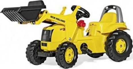 Rolly toys rollykid new holland construction w190c trettraktor mit