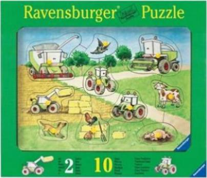 ravensburger puzzle claas traktoren g nstig kaufen preisvergleich test. Black Bedroom Furniture Sets. Home Design Ideas