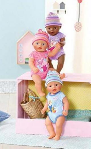 zapf creation baby born puppe interactive 822005 g nstig kaufen preisvergleich test. Black Bedroom Furniture Sets. Home Design Ideas