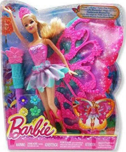 Barbie Zauberhafte Weihnachten 2019.Mattel Barbie Zauberhafte Blumenfee Blond