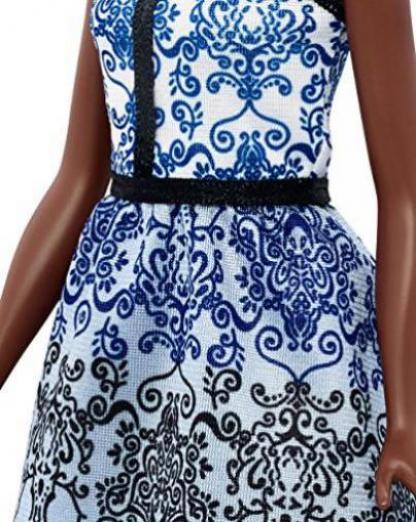 Blaues kleid test