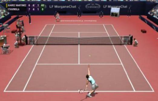 tennis pc spiel