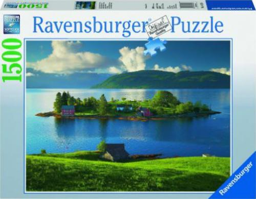 ravensburger puzzle insel in hordaland norwegen g nstig kaufen preisvergleich test. Black Bedroom Furniture Sets. Home Design Ideas
