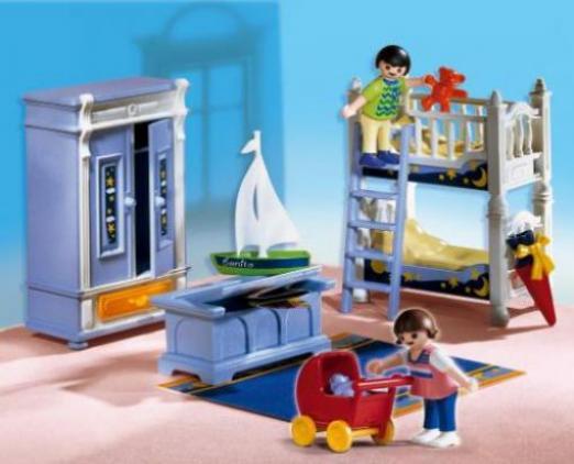 Playmobil dollhouse kinderzimmer mit stockbett g nstig - Kinderzimmer test ...