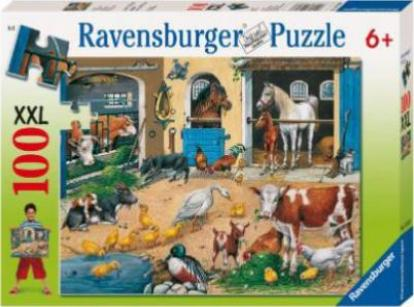 ravensburger puzzle am stall g nstig kaufen preisvergleich test. Black Bedroom Furniture Sets. Home Design Ideas