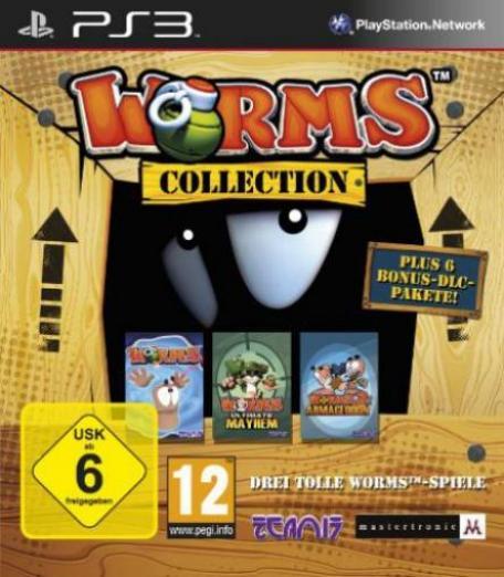 worms collection deutsch playstation 3 ps3 g nstig kaufen preisvergleich test. Black Bedroom Furniture Sets. Home Design Ideas