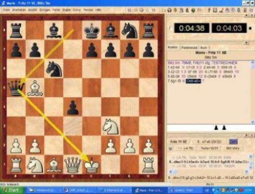 schach 2 spieler 1 pc