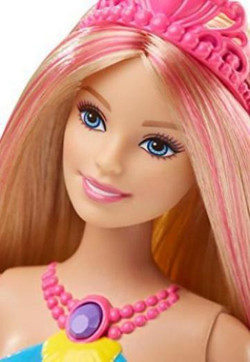 mattel barbie dhc40 regenbogenlicht meerjungfrau puppe