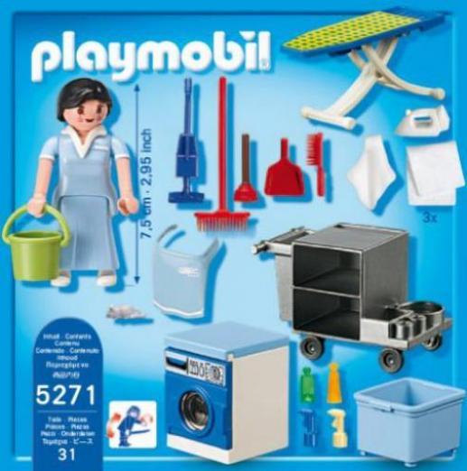 playmobil summer fun reinigungsservice g nstig kaufen. Black Bedroom Furniture Sets. Home Design Ideas