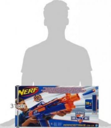 Spielzeug für draußen Hasbro A3901E35 Nerf N-strike Elite XD Rapidstrike Spielzeug günstig kaufen