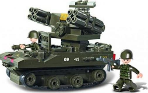 Baukästen & Konstruktion Sluban Transporthubschrauber M38-B6600