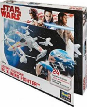 Revell Weihnachtskalender.Revell Control Rc Star Wars X Wing Fighter Adventskalender