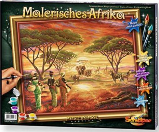 Schipper Arts Crafts Malen Nach Zahlen Malerisches Afrika