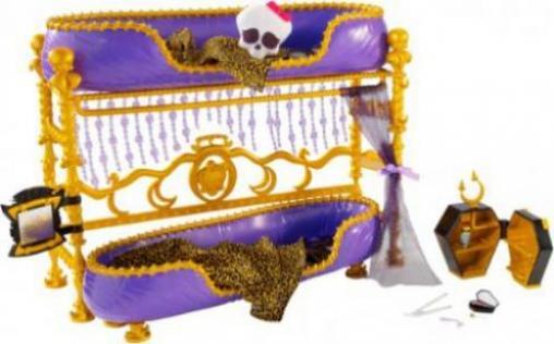 Etagenbett Puppe : Mattel monster high clawdeen wolf & todschickes etagenbett günstig