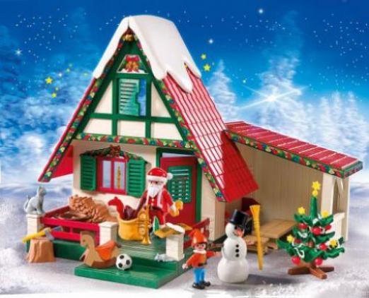 Playmobil Weihnachten.Playmobil Weihnachten Zuhause Beim Weihnachtsmann