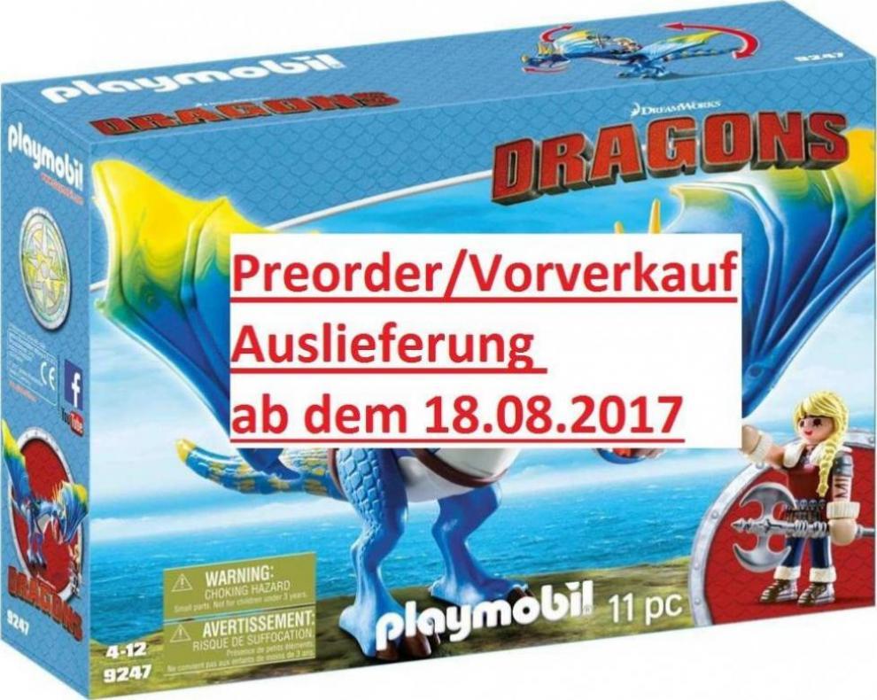 Playmobil Dragons Astrid Und Sturmpfeil Günstig Kaufen