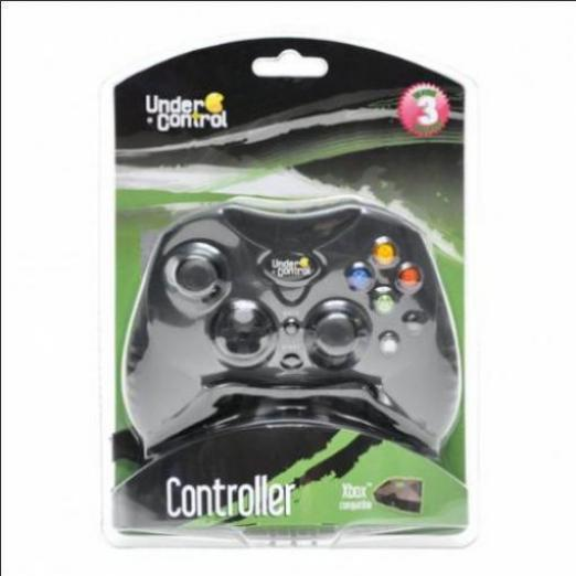 under control wired controller xbox sonstige konsolen g nstig kaufen preisvergleich test. Black Bedroom Furniture Sets. Home Design Ideas
