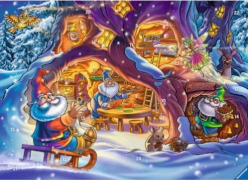 Weihnachtskalender Tiptoi.Tiptoi Spiel Adventskalender Wichtelwald