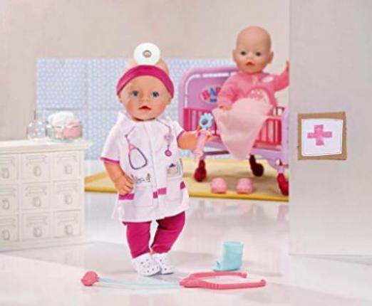 zapf creation baby born mode deluxe doktor set g nstig kaufen preisvergleich test. Black Bedroom Furniture Sets. Home Design Ideas