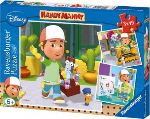 ravensburger puzzle handy manny g nstig kaufen preisvergleich test. Black Bedroom Furniture Sets. Home Design Ideas