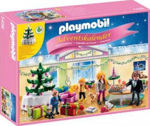 Playmobil Weihnachten.Playmobil Weihnachten Adventskalender Weihnachtsabend Mit Beleuchtetem Baum