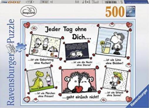 Ravensburger Puzzle Sheepworld Jeder Tag Ohne Dich Gunstig Kaufen