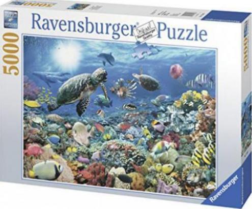 ravensburger puzzle leben im korallenriff g nstig kaufen preisvergleich test. Black Bedroom Furniture Sets. Home Design Ideas